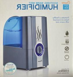 1 Gal. Humidifier Warm Mist 24 Hour Dry Skin Cough Sinus Qui