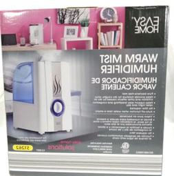 Easy Home 1 Gallon Warm Mist Humidifier EE-5201W with medici