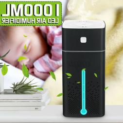1000ml Color Cool Mist Humidifier Ultrasonic Ultra Quiet Bed