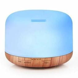 1000ML Essential Oil Diffuser For Large Room - Quiet Aroma O