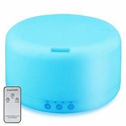 URPOWER 1000ml Essential Oil Diffuser Humidifiers Remote Con