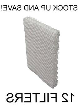 12-Pack H100 Humidifier Filters - Replaces Holmes HWF100 Sun