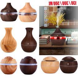 130/300/500ML Intelligent LED Humidifier Essential Oil Diffu