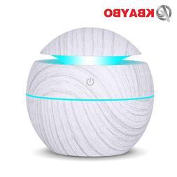 KBAYBO 130ml USB Ultrasonic Cool Mist <font><b>Humidifier</b
