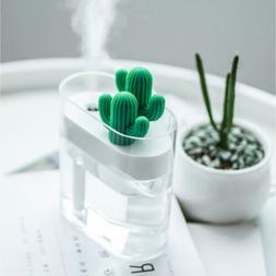 160ml USB Air Cactus Clear humidifier Negative Ion Aerosol D