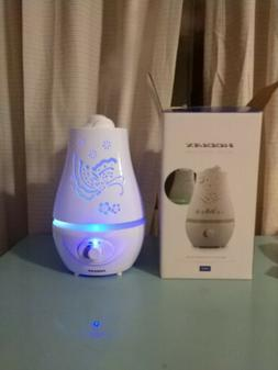 2.2L Humidifier Ultrasonic Humidifier, Auto Shut Off Adjusta