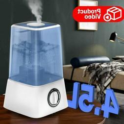2.2L Room Humidifier 360° Cool Mist Diffuser Essential Oil