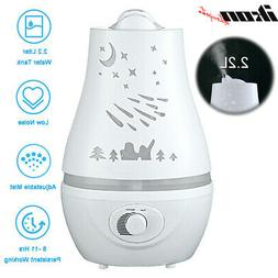 2.2L Ultrasonic Cool LED Aroma Air Humidifier Diffuser Purif