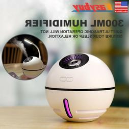 2000mA Battery LED Humidifier Air Purifier Oil Aroma Diffuse