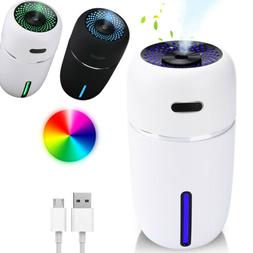 200ML Portable Mini USB Humidifier with Auto Shut-off Cool M