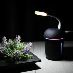 2018 LED Ultrasonic Aroma Humidifier Air Aromatherapy Essent