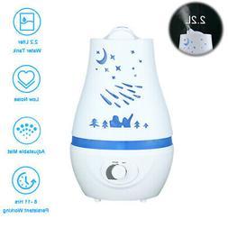 2200ML Ultrasonic Home Air Atomizer Diffuser LED Aroma Air H