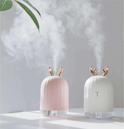 220ML Ultrasonic Air Humidifier Aroma Essential Oil Diffuser