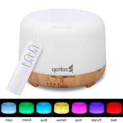 220V 450ML Colorful RGB Light With Remote Control Aromathera
