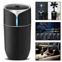 230ml Mini Ultrasonic Air Diffuser Mist Purifier Aroma Air H