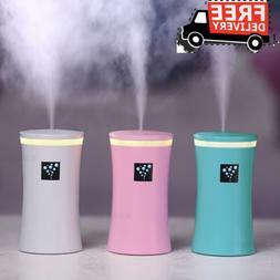 260ML Mini USB Diffuser Car Ultrasonic  Mist Humidifier Air