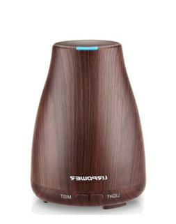 URPOWER 2nd Version Essential Oil Diffuser Aroma Cool Mist H