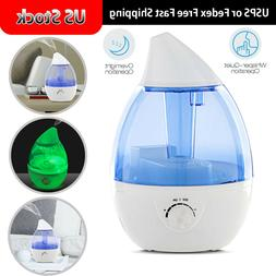 3.5L Large-capacity Supersonic Wave Night Light Humidifier F