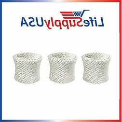 3 Humidifier Filters for Protec WF2 Sunbeam 1118 1119 Vicks