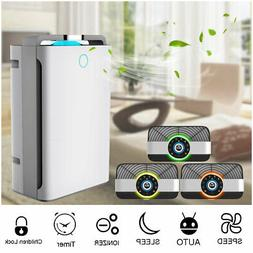 AUGIENB 3 IN 1 7 stage HEPA Air Purifier Ionizer Filter UV S