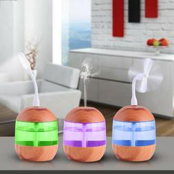 3 in 1 LED Essential Oil Diffuser Aroma Aromatherapy Purifie