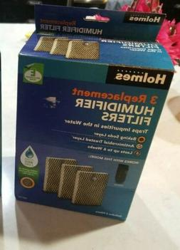 3-Pack Box of Holmes Humidifier Replacement Filters HWF100