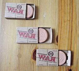 3 Pack RAW Hydrostone Terracotta Clay Stone Natural Tobacco
