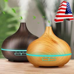 300ml Aroma Humidifier Essential Oil Diffuser Aromatherapy S