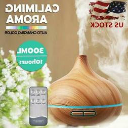 300ml Essential Oil Diffuser Aroma Humidifier Aromatherapy M