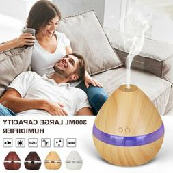 300ML Large Capacity Humidifier LEDLight Aromatherapy Essent