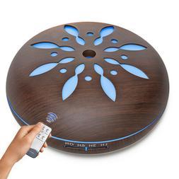 300ML LED Aroma Humidifier Essential Oil Diffuser Aromathera