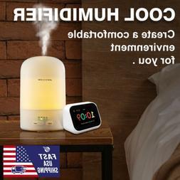 300ML MIni Ultrasonic Air Diffuser Mist Purifier Aroma Air H
