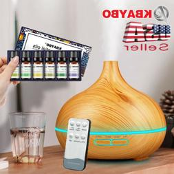 300ml Ultrasonic Purifier Humidifier Aromatherapy Essential