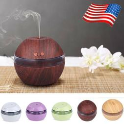 300ml USB Ultrasonic Oil Air Humidifier Purifier Aroma Diffu