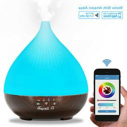 300ml WiFi Smart Diffuser Aroma Humidifier APP LED Work With