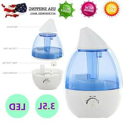 3500ml Supersonic Wave Night Light Air Humidifier Fragrance