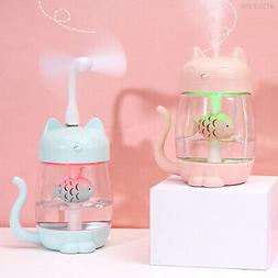 3787 Portable Lovely Baby Room Home Humidifier Air Purifier