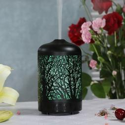 3D Forest Essential Oil Diffuser 100ml Metal Aromatherapy Ul