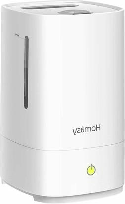 Homasy 4.5L Cool Mist Top Filling Humidifier, Auto Shut Off