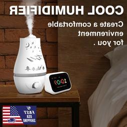4.5L Humidifier Cool Mist Air Diffuser Purifier Lonizer Humi