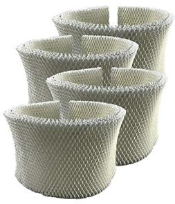 Air Filter Factory 4 Pack Compatible Humidifier Wick Filters