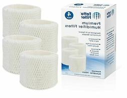 Fette Filter - 4 Pack of Humidifier Wicking Filters Compatib