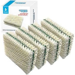 4-Pack HQRP Wick Filter for Kenmore Humidifier, 32-14911 032