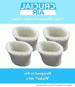4 Replacements Vicks V3500N V3100 V3900 Humidifier Filters P