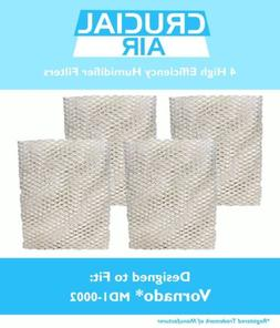 4 Replacements Vornado MD1-0002 Air Humidifier Wick Filters
