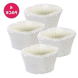 4 Vicks WF2 Humidifier Filters; Fits Vicks V3500N, V3100, V3