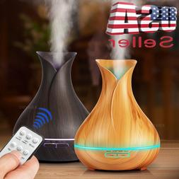 400ml 7 LED Humidifier Ultrasonic Air Aromatherapy Essential