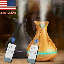 400ml 7LED Aroma Essential Oil Diffuser Ultrasonic Air Humid