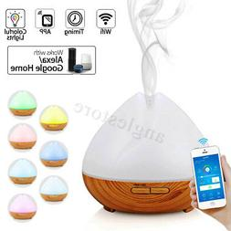 400ml WiFi Smart Diffuser Aroma Humidifier APP LED Timer For