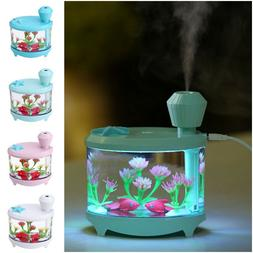 460ML Aromatherapy Air Humidifier Home And Car Essential Oil